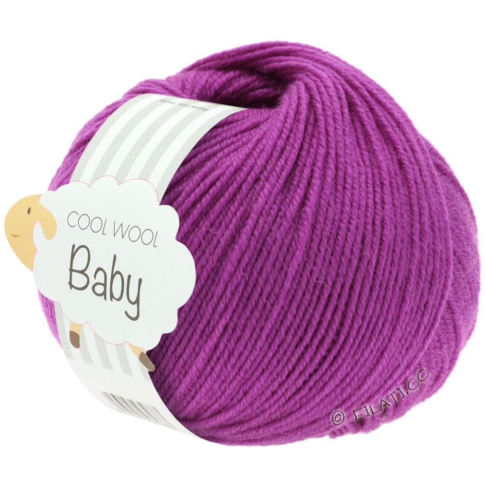 LL 110//25g Lana Grossa Cool Wool Baby 242 Nadelstärke 2,5-3