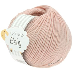 Lana Grossa COOL WOOL Baby 25g | 246-Puderrosa