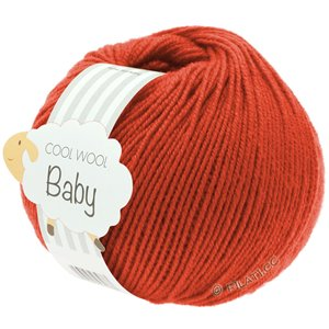 Lana Grossa COOL WOOL Baby 25g | 271-Tomate