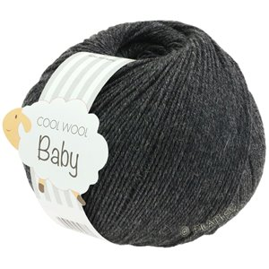 Lana Grossa COOL WOOL Baby 50g | 205-Anthrazit