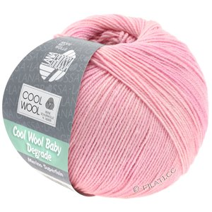 Lana Grossa COOL WOOL Baby Degradé | 501-Zartrosa/Rosa/Flieder