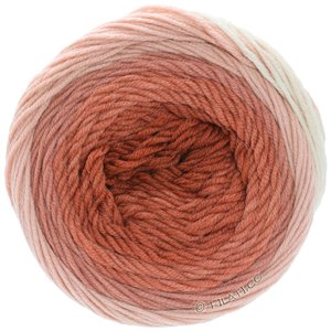 Lana Grossa COOL WOOL Big 1:1 | 5003-Ecru/Altrosa/Lachsrosa/Terracotta