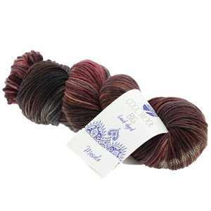Lana Grossa COOL WOOL Big Hand-dyed | 205-Terracotta/Nougat/Brombeer/Grau/Anthrazit/Mauve