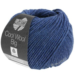 Lana Grossa COOL WOOL Big  Uni/Melange | 0655-Dunkelblau