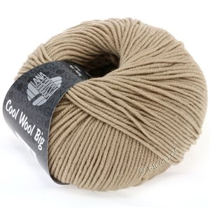 Lana Grossa COOL WOOL Big  Uni/Melange | 0685-Sand