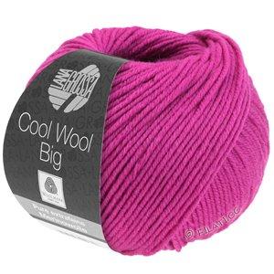 Lana Grossa COOL WOOL Big  Uni/Melange | 0690-Zyklam