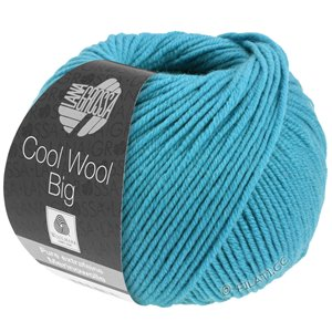 Lana Grossa COOL WOOL Big  Uni/Melange | 0910-Türkis
