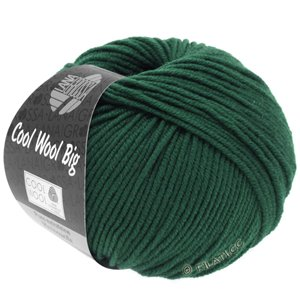 Lana Grossa COOL WOOL Big  Uni/Melange | 0957-Seegrün