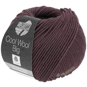 Lana Grossa COOL WOOL Big  Uni/Melange | 0964-Marone