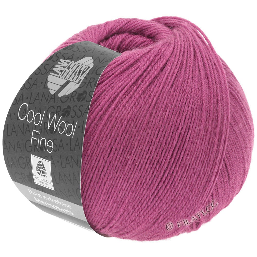 Lana Grossa COOL WOOL Fine | 06-Purpur
