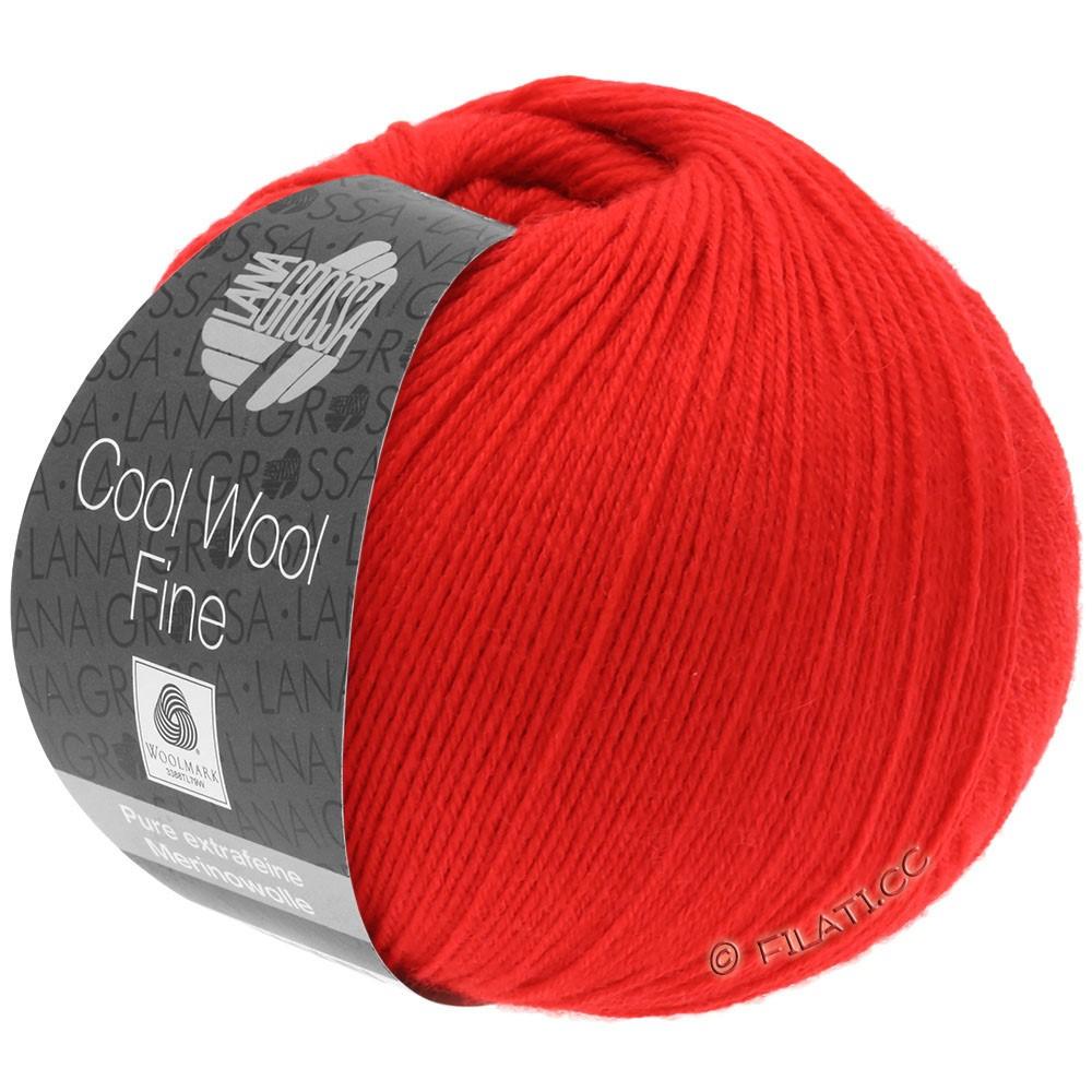 Lana Grossa COOL WOOL Fine | 09-Rot