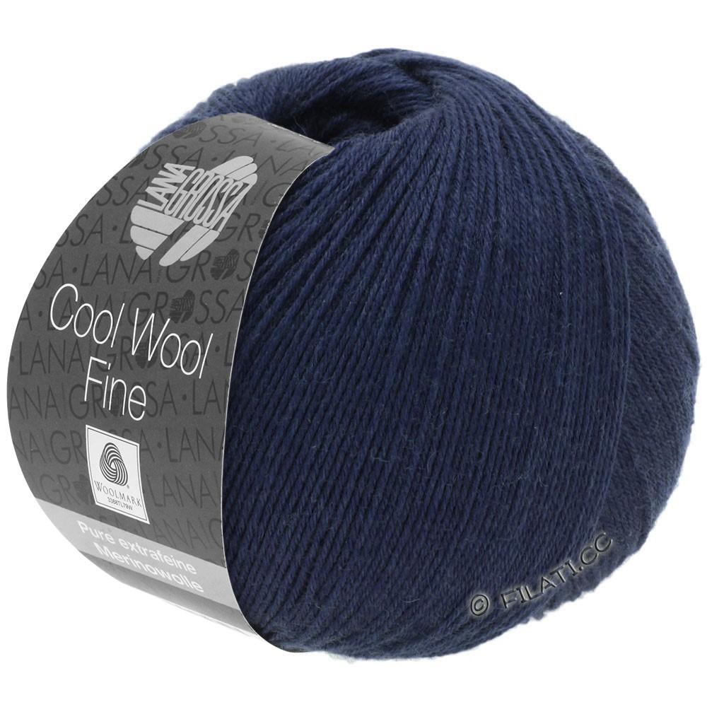 Lana Grossa COOL WOOL Fine | 15-Nachtblau
