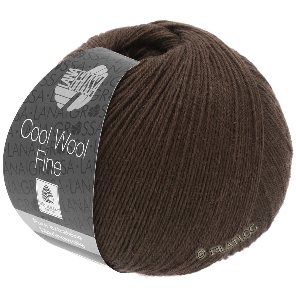 Lana Grossa COOL WOOL Fine | 34-Mokka