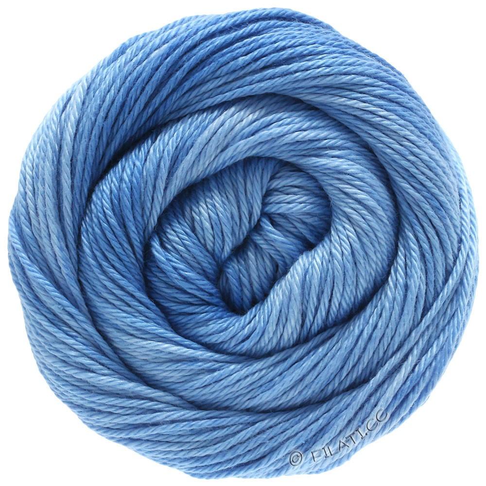 Lana Grossa COTONE Degradé | 208-Hellblau/Himmelblau/Blau