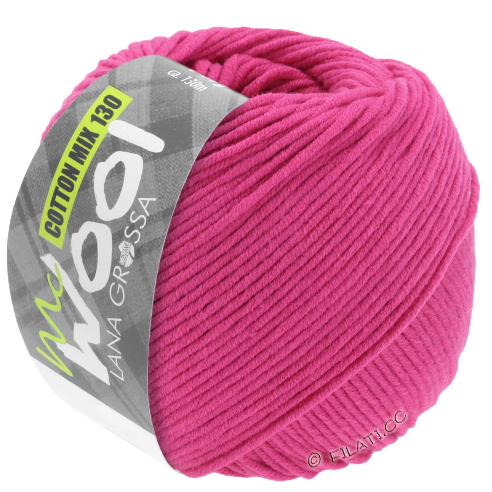 Lana Grossa COTTON MIX 130 (McWool) | 105-Pink