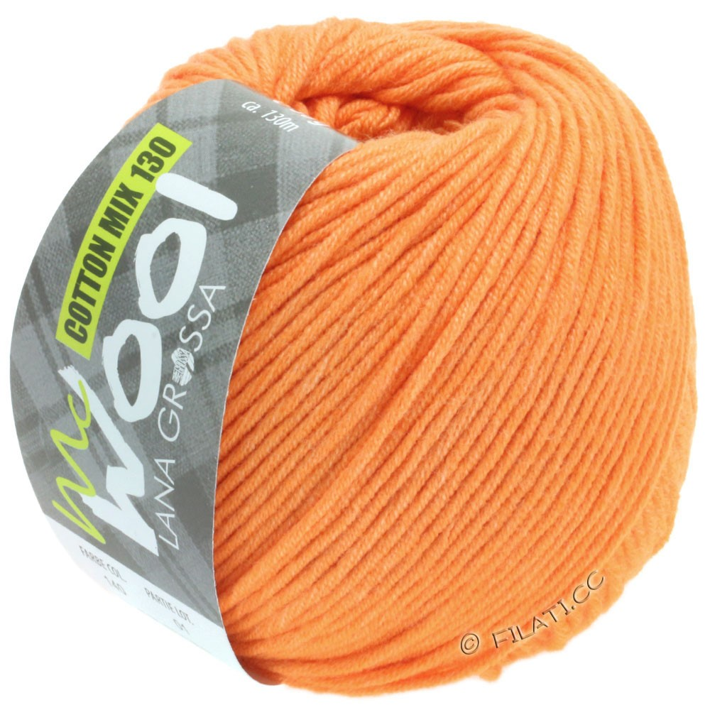 Lana Grossa COTTON MIX 130 (McWool) | 139-Apricot