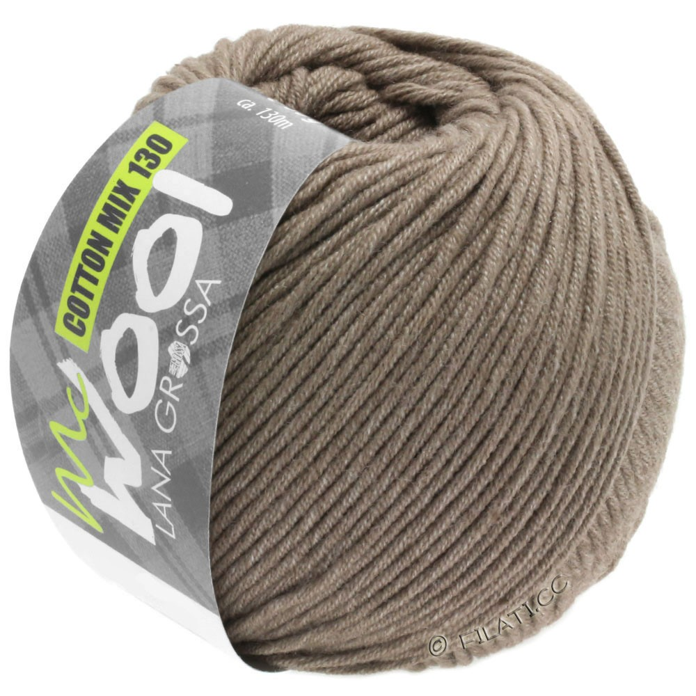 Lana Grossa COTTON MIX 130 (McWool) | 144-Beigebraun
