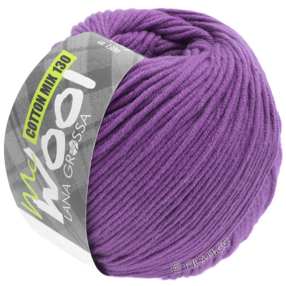 Lana Grossa COTTON MIX 130 (McWool) | 147-Violett