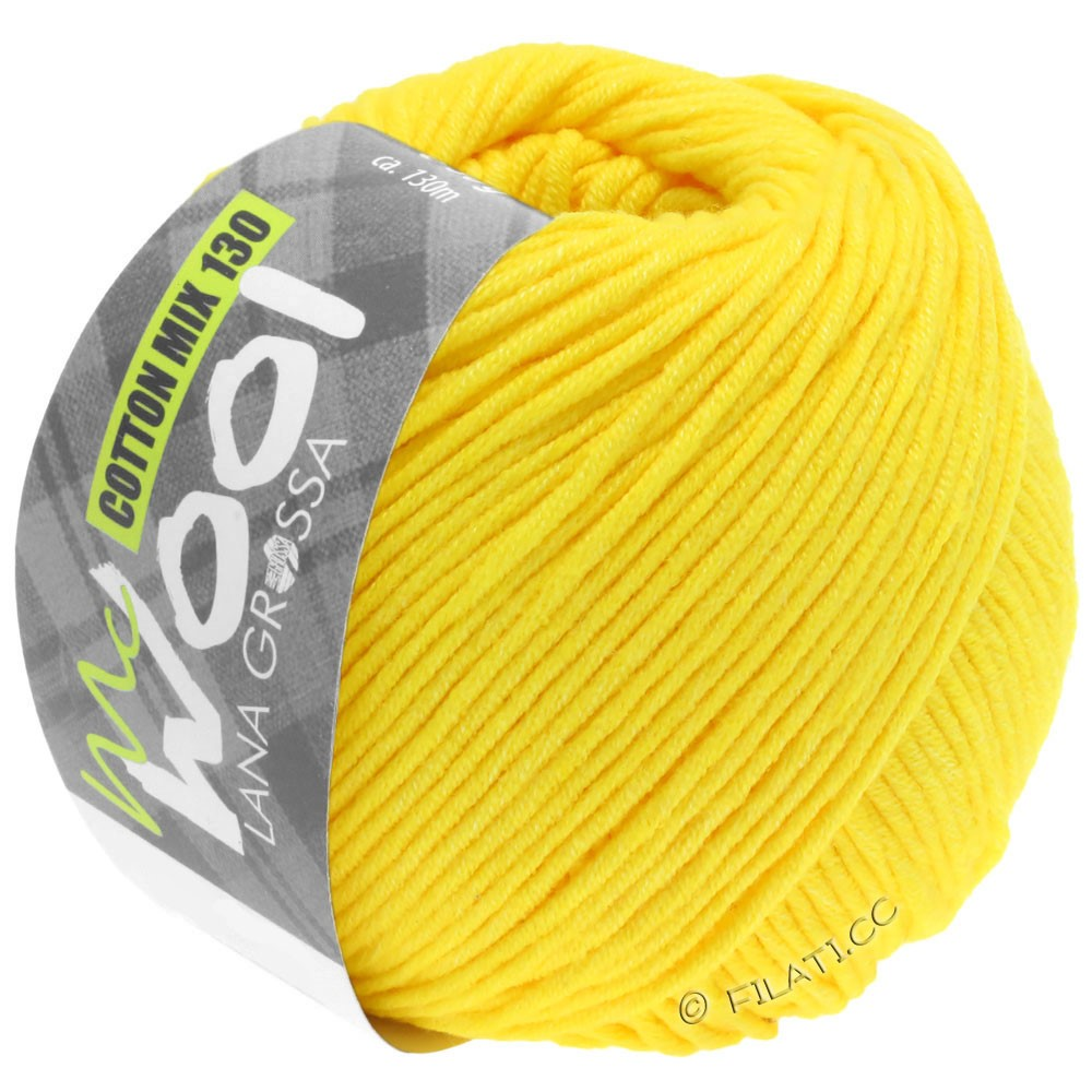 Lana Grossa COTTON MIX 130 (McWool) | 151-Gelb