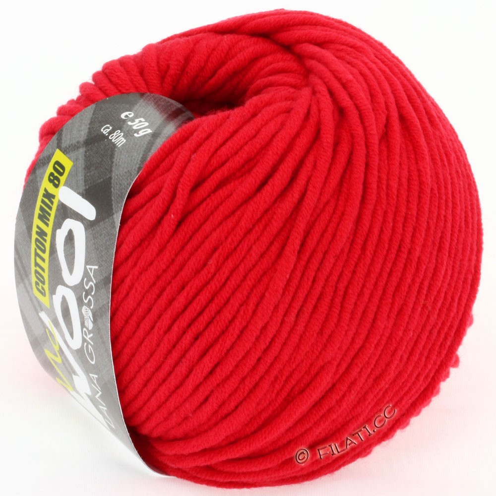 Lana Grossa COTTON MIX 80 (McWool) | 503-Rot