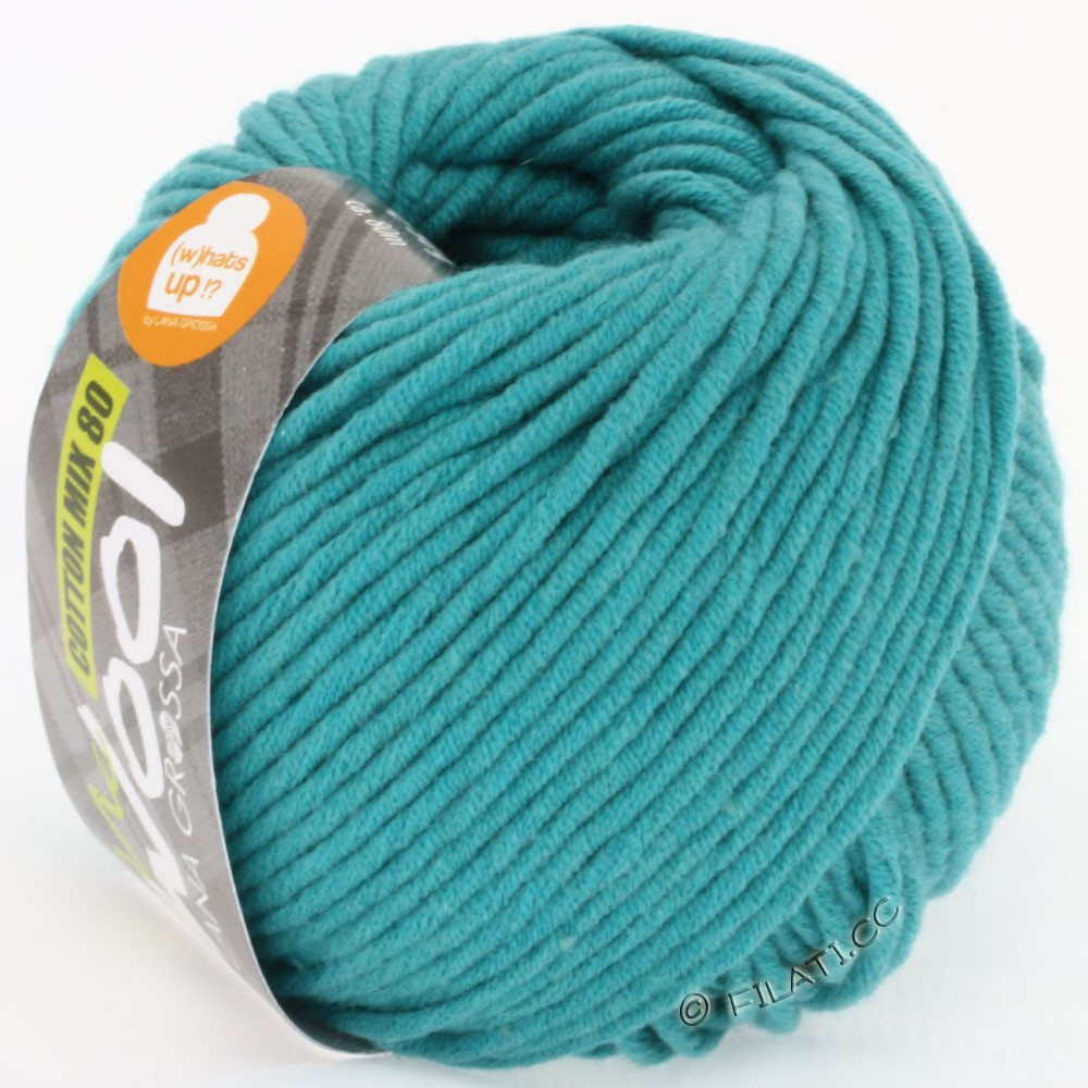 Lana Grossa COTTON MIX 80 (McWool) | 521-Aquamarin