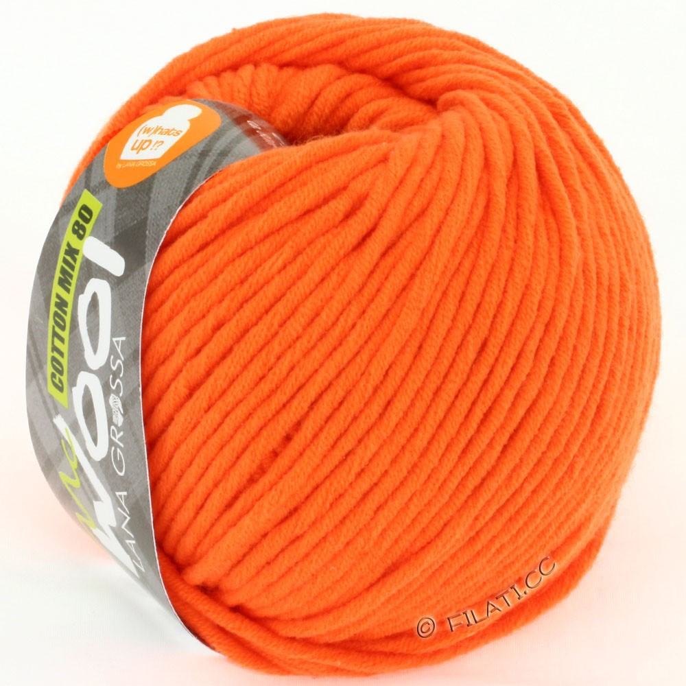 Lana Grossa COTTON MIX 80 (McWool) | 525-Orange