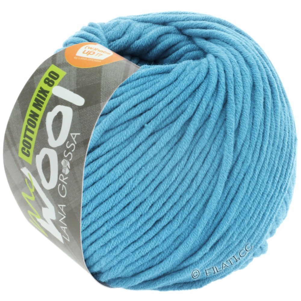 Lana Grossa COTTON MIX 80 (McWool) | 537-Himmelblau