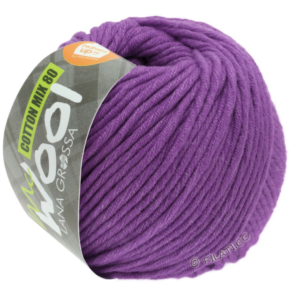 Lana Grossa COTTON MIX 80 (McWool) | 547-Violett