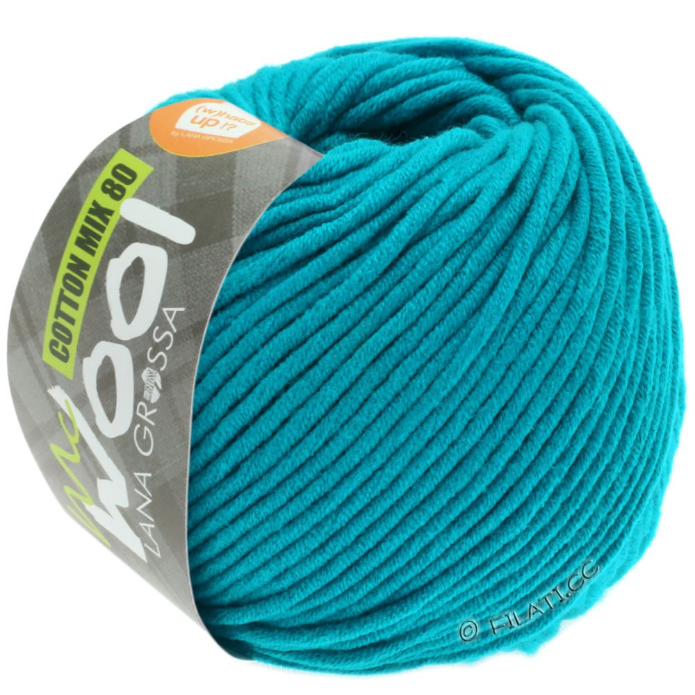 Lana Grossa COTTON MIX 80 (McWool) | 548-Petrol