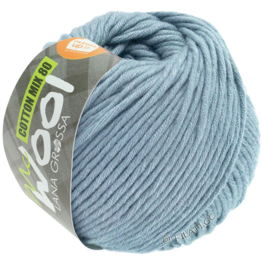 Lana Grossa COTTON MIX 80 (McWool) | 550-Hellblau