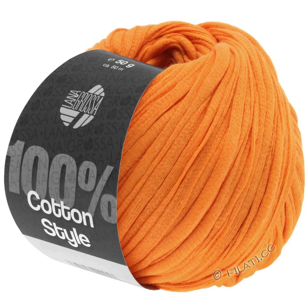 Lana Grossa COTTON STYLE   16-Orange