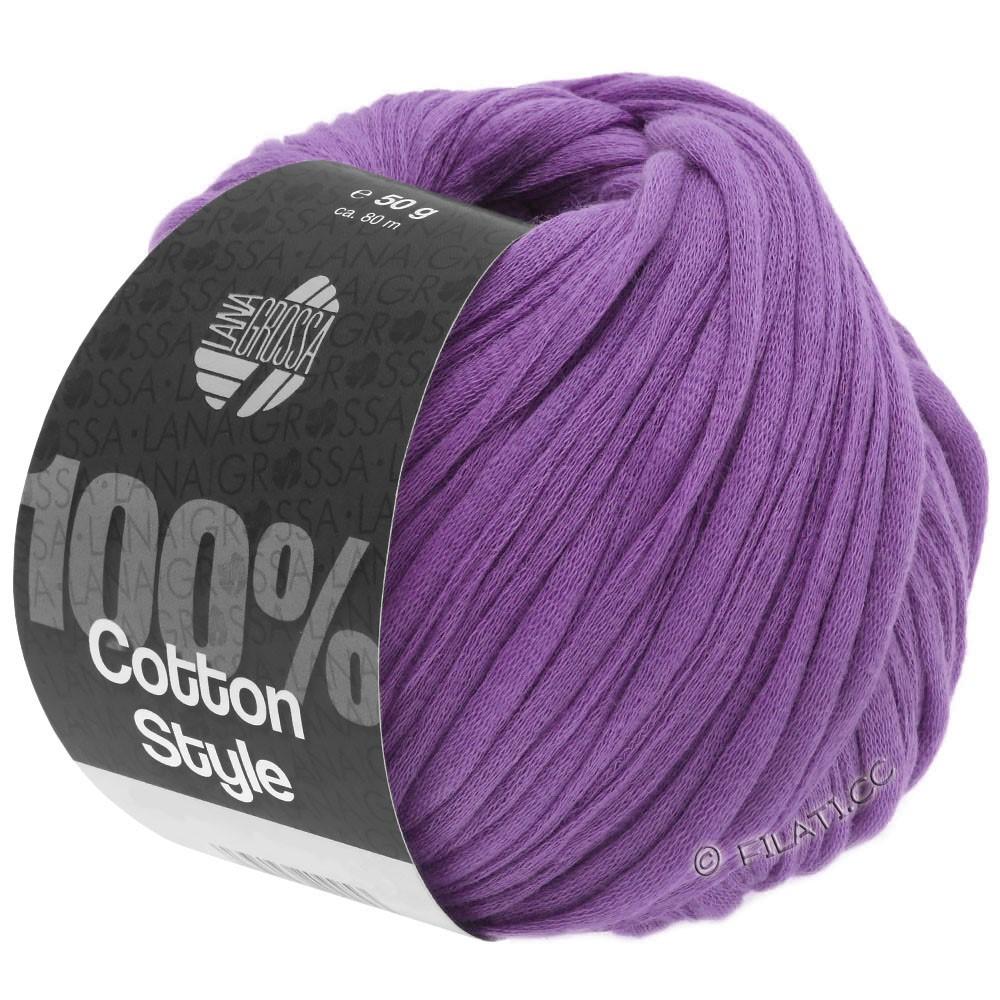 Lana Grossa COTTON STYLE   19-Violett