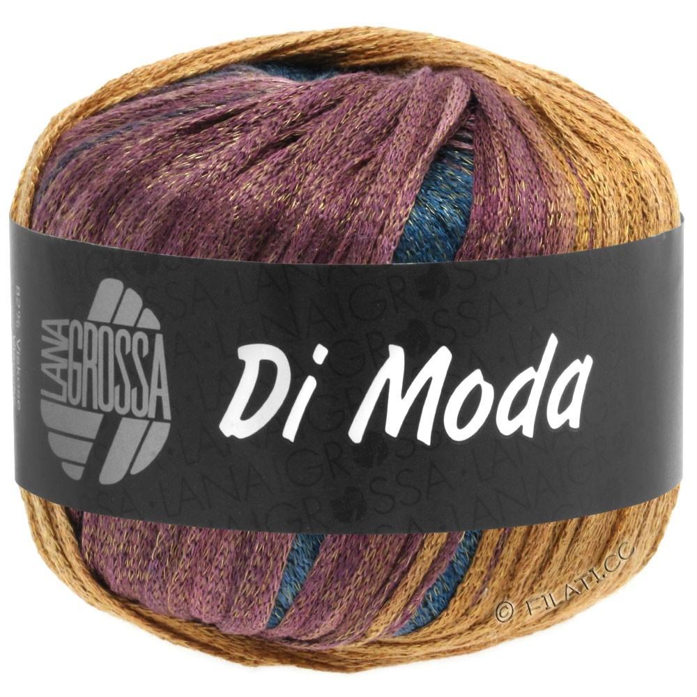 Lana Grossa DI MODA | 13-Khaki/Ocker/Bordeaux/Schwarzgrün
