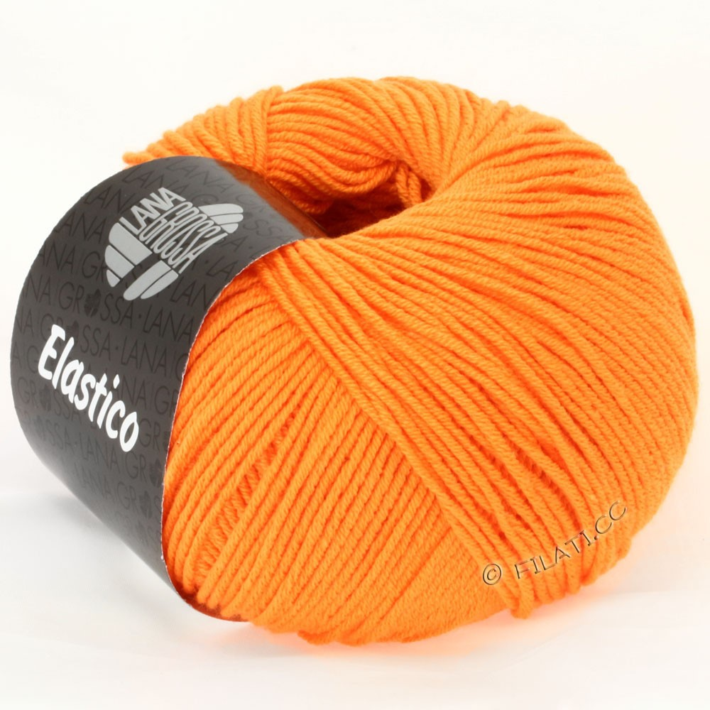 Lana Grossa ELASTICO Uni/Print | 111-Orange