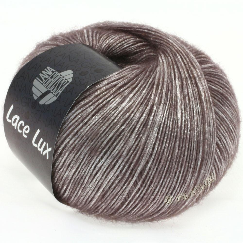 Lana Grossa LACE Lux | 10-Graubraun meliert