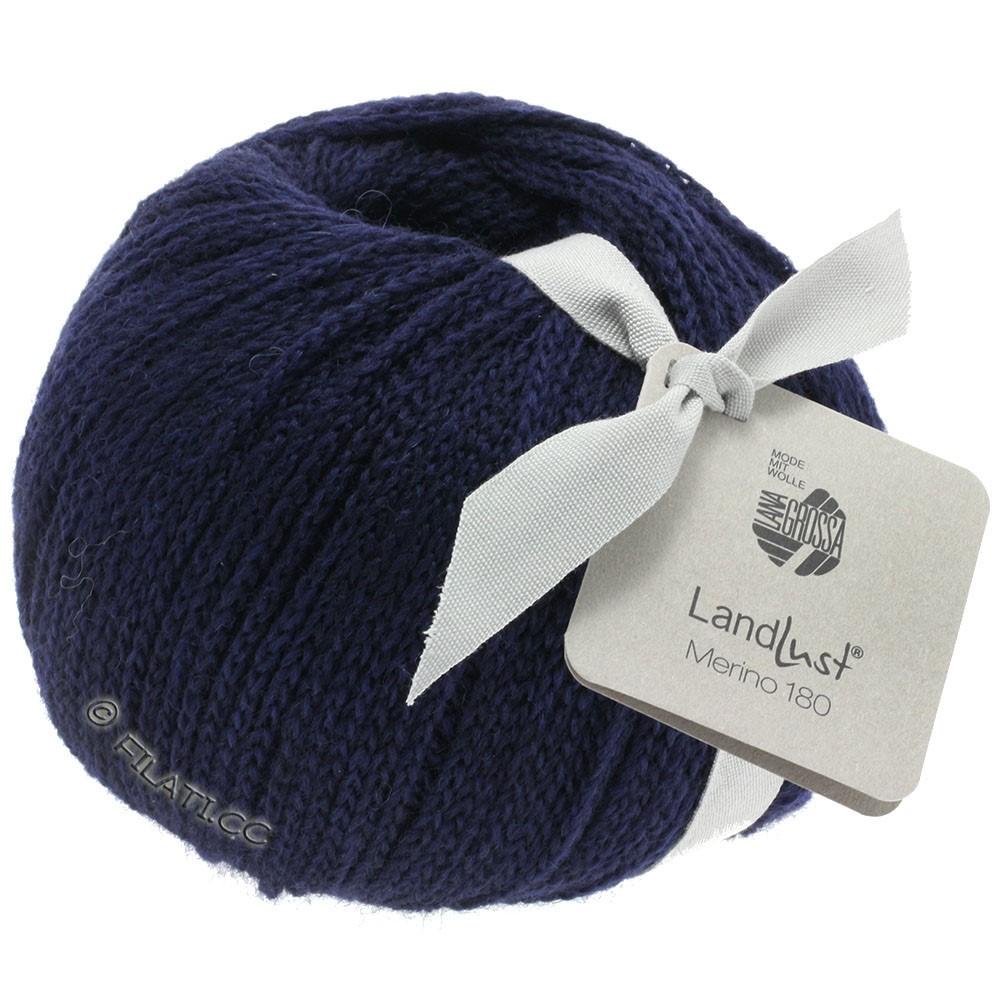 Lana Grossa LANDLUST MERINO 180 | 209-Nachtblau