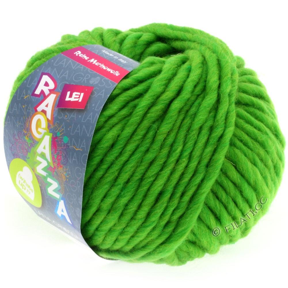 Lana Grossa LEI  Uni/Neon (Ragazza) | 061-Giftgrün meliert