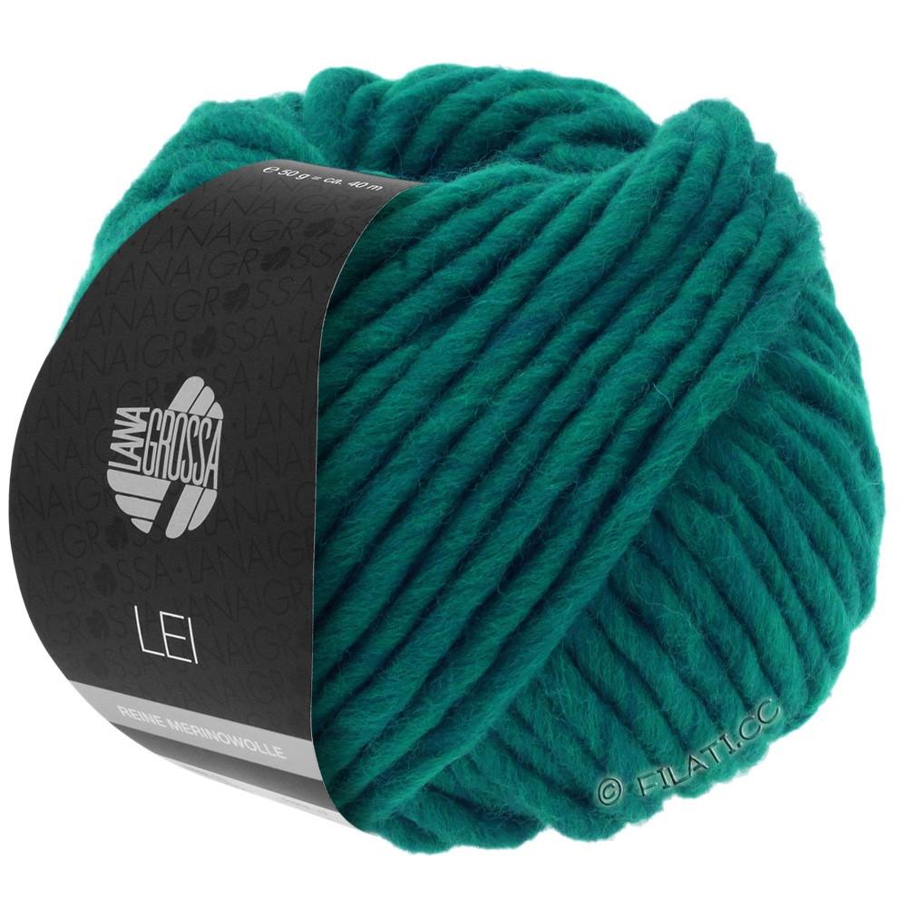 Lana Grossa LEI  Uni/Neon (Ragazza) | 087-Blaugrün