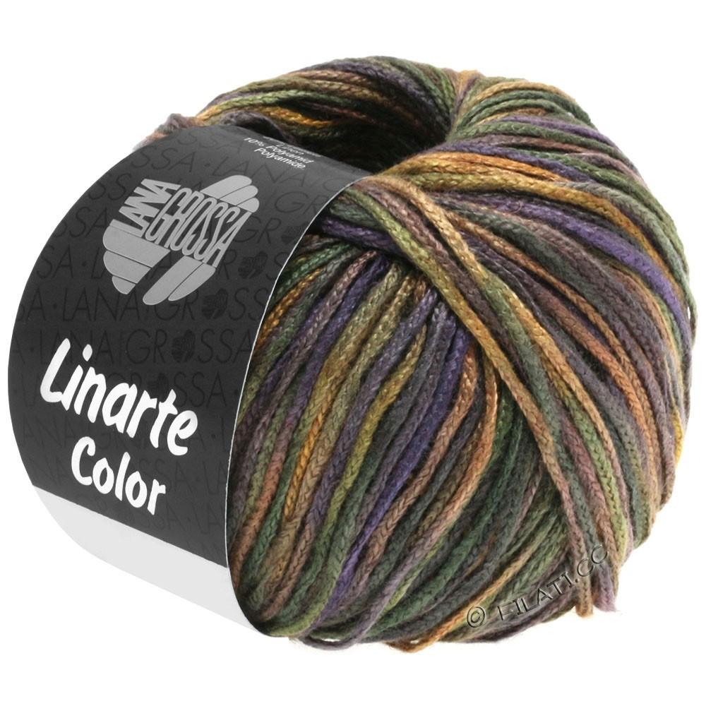 Lana Grossa LINARTE Color | 104-Schwarzgrün/Braun/Schiefer