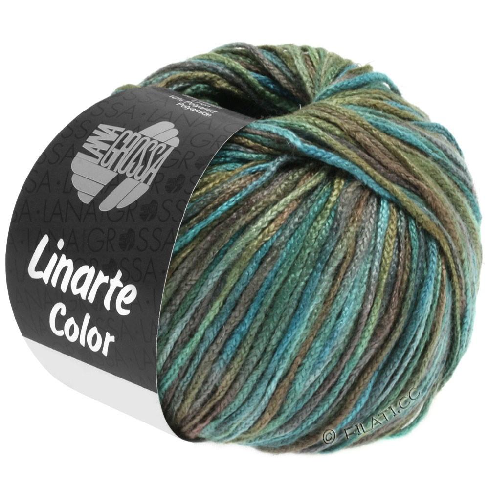 Lana Grossa LINARTE Color | 107-Türkis/Oliv/Petrol/Khaki