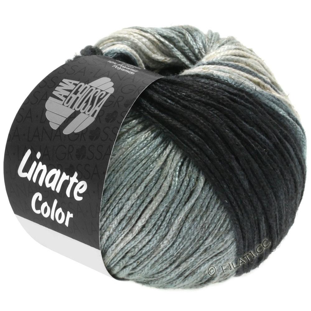 Lana Grossa LINARTE Color | 207-Graubeige/Steingrau/Quarz-/Schiefergrau/Anthrazit
