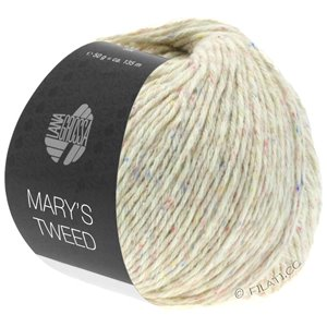 Lana Grossa MARY'S TWEED | 03-Natur meliert