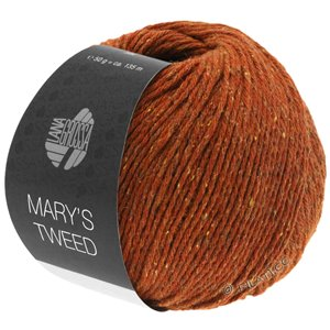 Lana Grossa MARY'S TWEED | 06-Rotbraun meliert