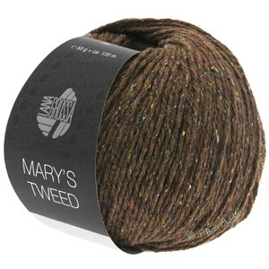 Lana Grossa MARY'S TWEED | 07-Braun meliert