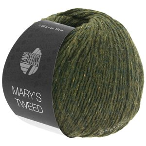 Lana Grossa MARY'S TWEED | 09-Loden meliert