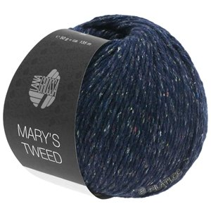 Lana Grossa MARY'S TWEED | 11-Nachtblau meliert