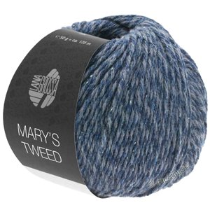 Lana Grossa MARY'S TWEED | 12-Graublau meliert
