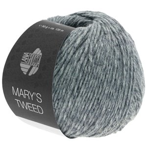 Lana Grossa MARY'S TWEED | 13-Grau meliert