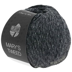 Lana Grossa MARY'S TWEED | 14-Anthrazit meliert