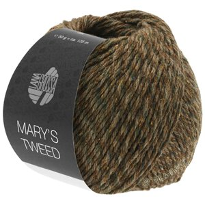 Lana Grossa MARY'S TWEED | 16-Nougat/Mokka meliert